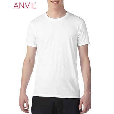 Anvil Adult Tri-Blend Tee White